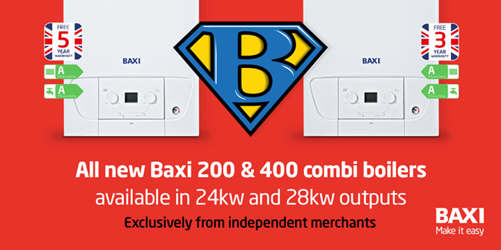 Baxi Heating UK - Boilers cover
