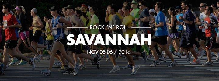 Rock 'n' Roll Savannah Marathon & 1/2 Marathon cover