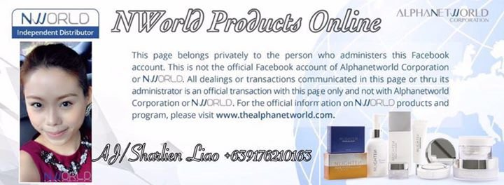 NWorld Products Online by AJSharlien Liao cover