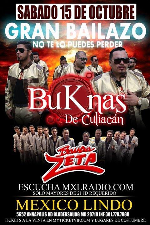 Mexico Lindo de Maryland MXL Night Club cover