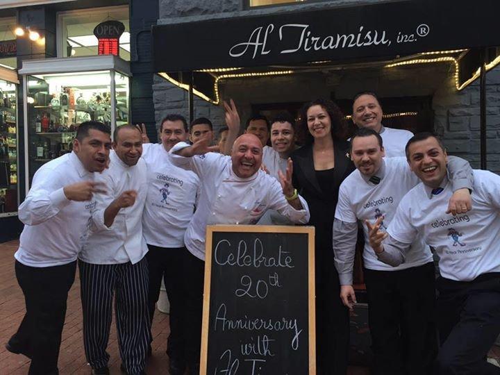 Al Tiramisu Restaurant cover