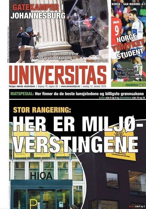 Universitas cover