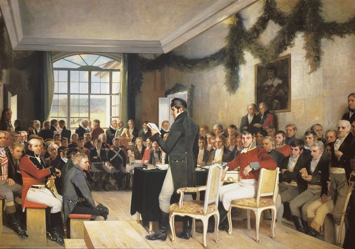 Eidsvoll 1814 cover