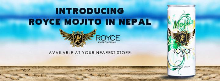 Royce Energy Drink Nepal cover