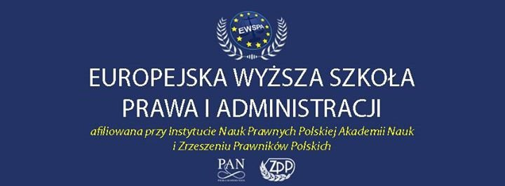 Europejska Wyższa Szkoła Prawa i Administracji cover