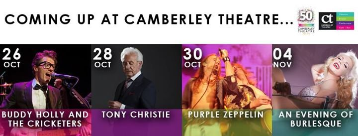 Camberley Theatre cover