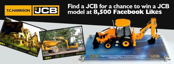 T C Harrison JCB cover