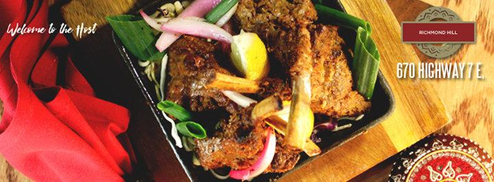 The Host Fine Indian Cuisine - Richmond Hill cover