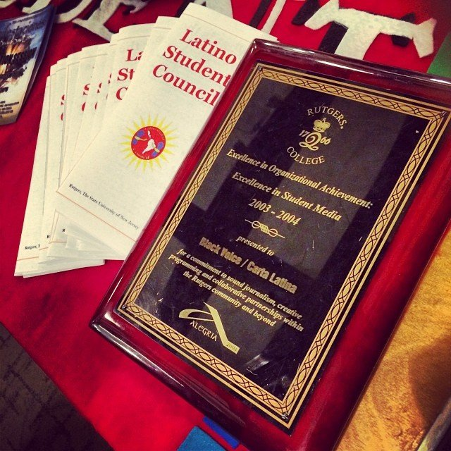 Rutgers University Latino Student Council cover