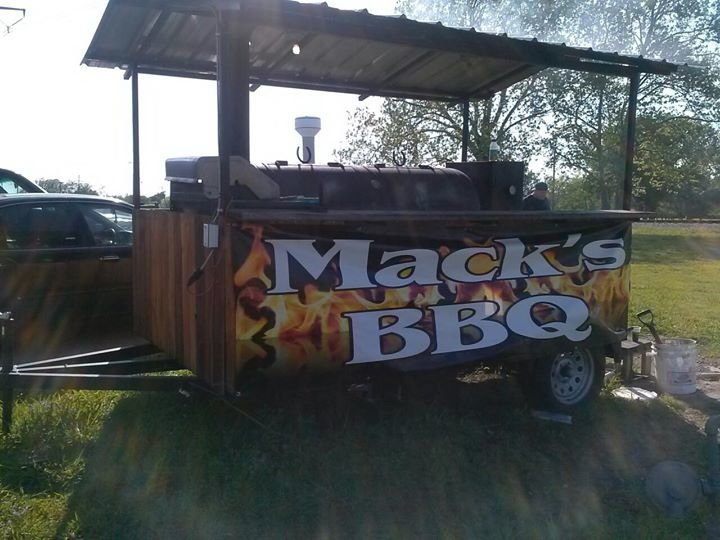 Mack's BBQ cover