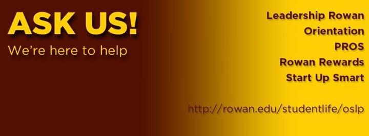 Rowan University Orientation & Student Leadership Programs cover