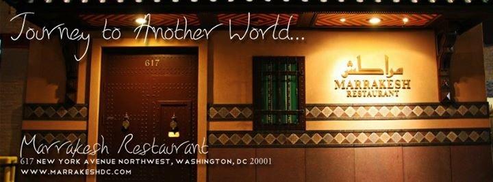 Marrakesh Restaurant cover