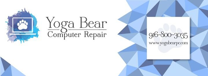 Yoga Bear Computer Repair cover