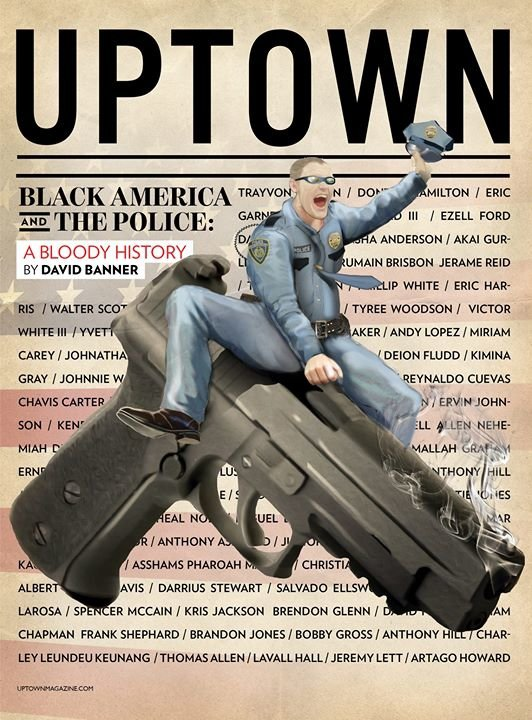 UPTOWN Magazine cover