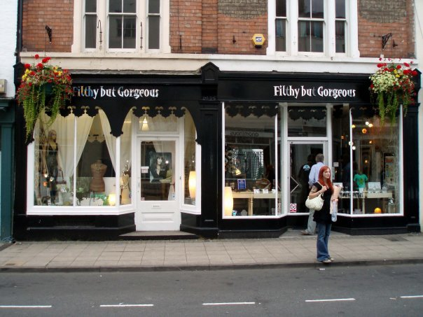 Filthy but Gorgeous & Warwick Gallery Leamington Spa cover