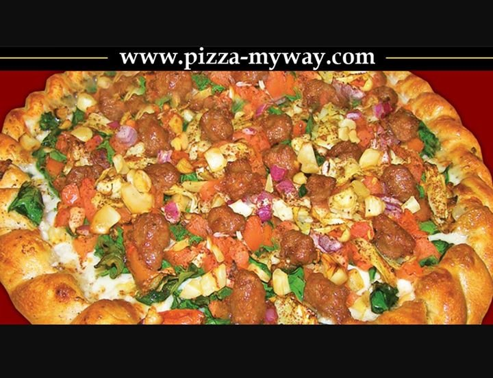 Pizza My Way cover