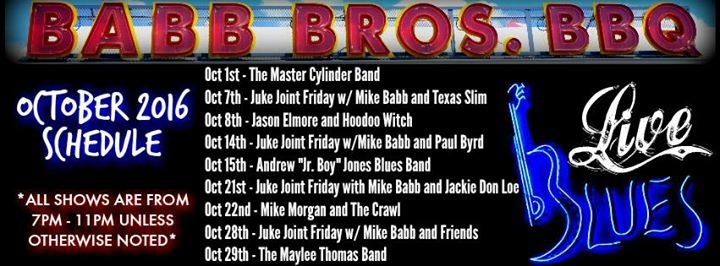 Babb Brothers BBQ and Blues at Trinity Groves cover