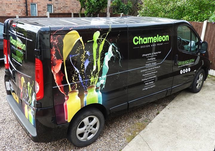 Chameleon Design and Print Ltd cover