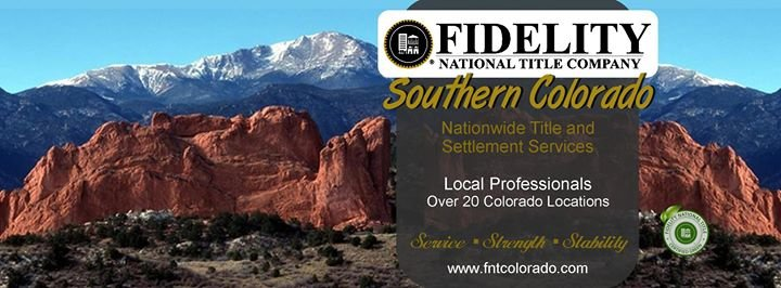 Fidelity National Title - Southern Colorado cover