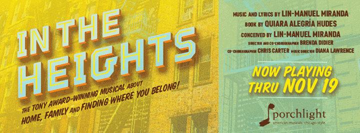Porchlight Music Theatre cover