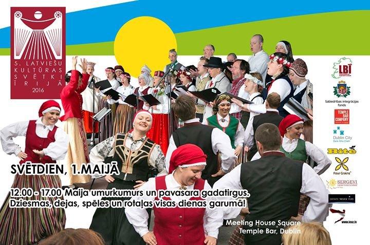Latviešu biedrība Īrijā : Latvian Society in Ireland cover
