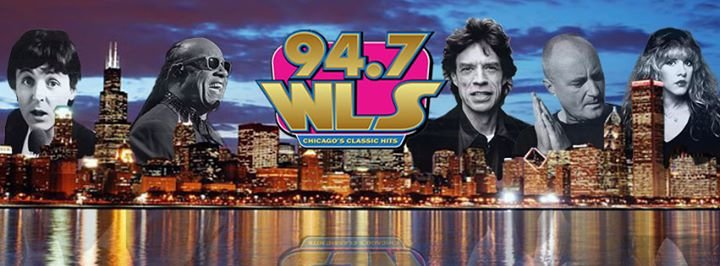 94.7 WLS-FM cover