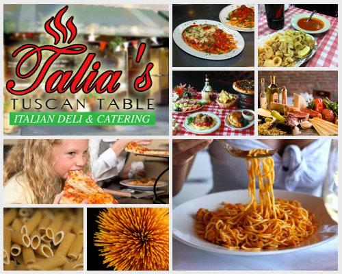 Talia's Tuscan Table cover