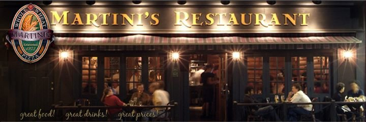 Martini's Restaurant cover