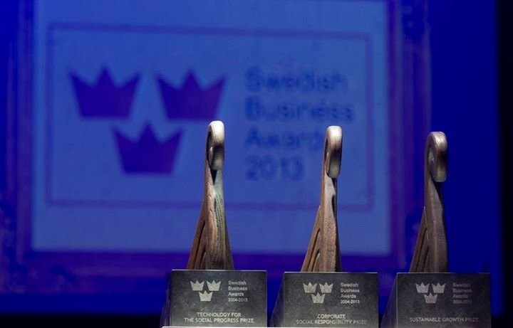 Swedish Business Awards cover