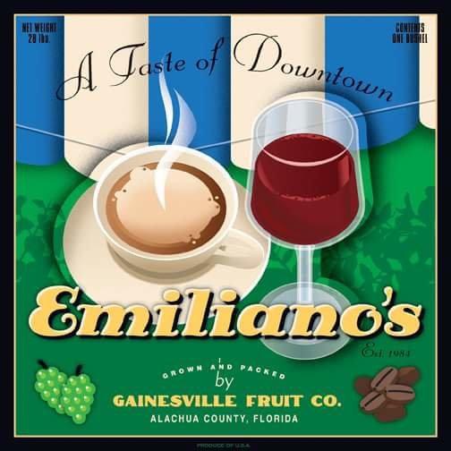 Emiliano's Cafe cover