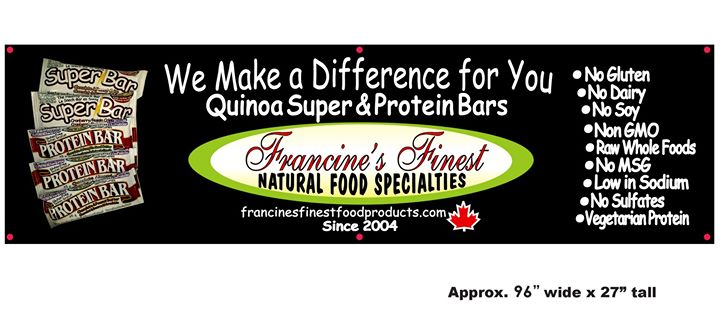 Francine's Finest Food Products Inc. cover
