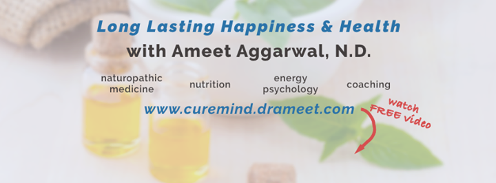 Dr. Ameet Aggarwal ND cover