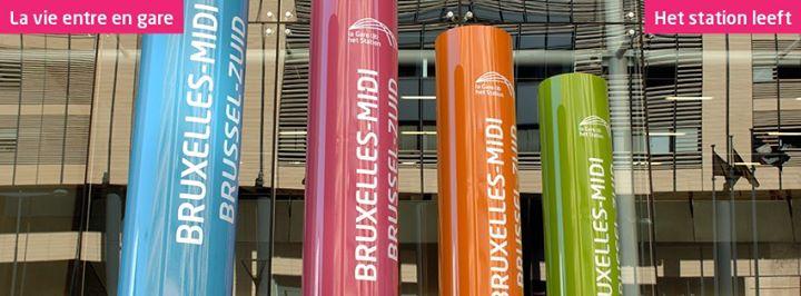 Gare de Bruxelles-Midi Station Brussel-Zuid cover