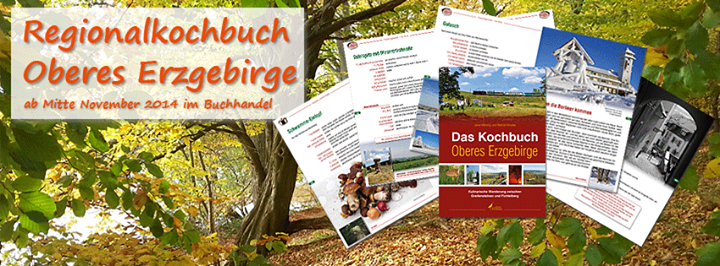 Regionalkochbuch Oberes Erzgebirge cover