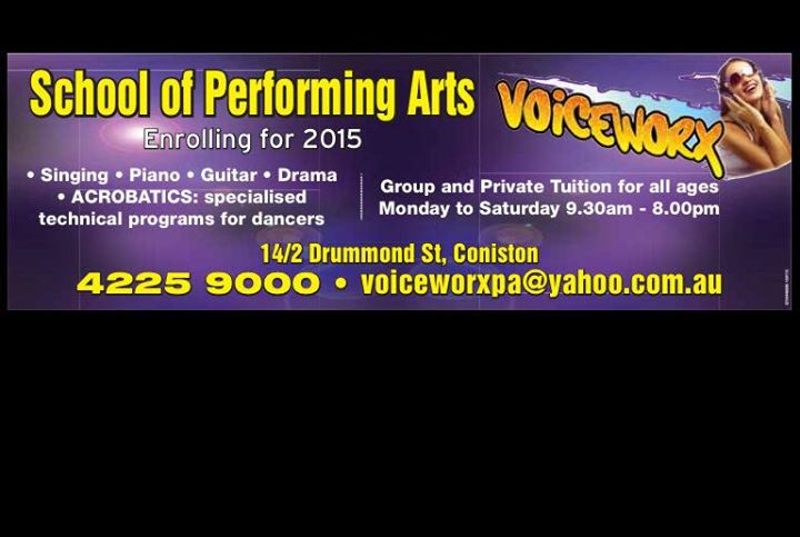 Voiceworx School of Performing Arts cover