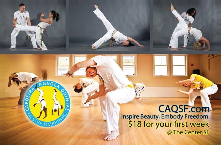 The San Francisco Capoeira Center cover