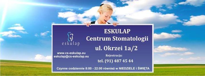 Eskulap Centrum Stomatologii. Gabinet dentystyczny, implanty, dentysta. cover