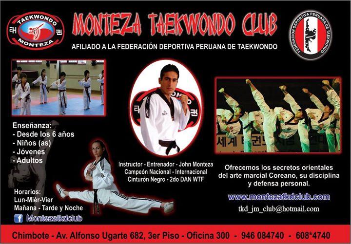 Monteza Taekwondo Club cover