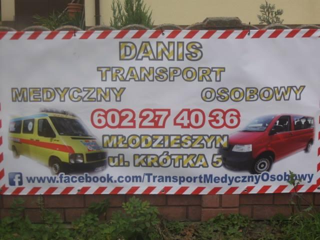 """Transport Medyczny i Osobowy """"Danis"""" Daniel Łukaszyk cover"""