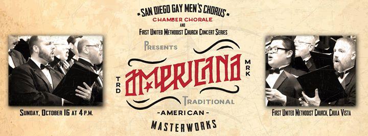 San Diego Gay Men's Chorus cover