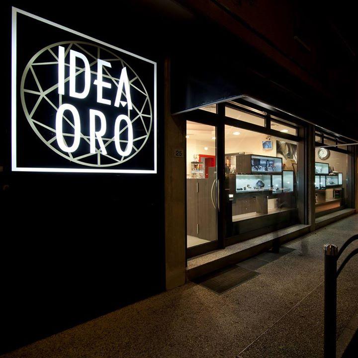 IDEA ORO  orafi / orologiai cover