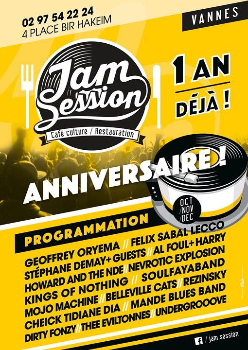 Jam Session-Vannes cover