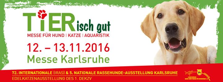 TIERisch gut - Messe Karlsruhe cover