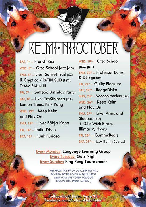 Kultuuriklubi Kelm cover
