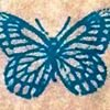 The Teal Butterfly