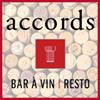 Accords resto bar à vin