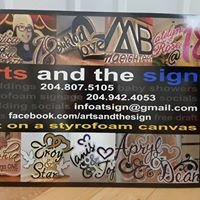 Arts and The Sign - Art on a Styrofoam Canvas