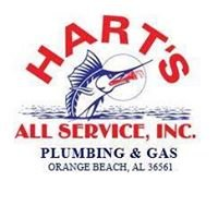 Hart's All Service, Inc. Plumbing & Gas