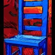 Blue Chair Art