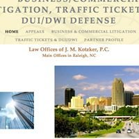 Law Offices of J. M. Kotzker, P.C.